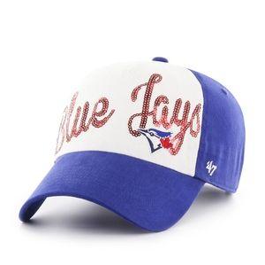 NWT Toronto Blue Jays '47 Hat Baseball cap Sparkle